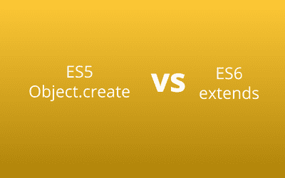 Inheritance by ES6 extends vs ES5 Object.create